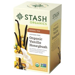 Organic Newspaper_Stash Tea Organic Vanilla Honeybush