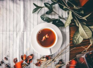 Organic Newspaper_Stash Tea Organic Vanilla Honeybush Featured Image