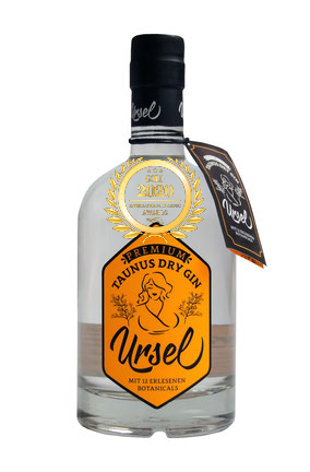Taunus Dry Gin Ursel - Heritage has received a Gold award in International Organic Awards 2020, awarded by Organic Newspaper.
