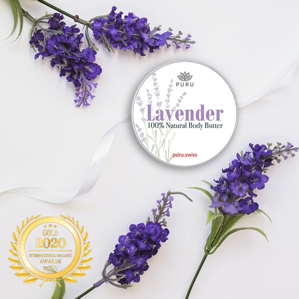 Lavender - 100% Natural Body Butter at Organic Newspaper