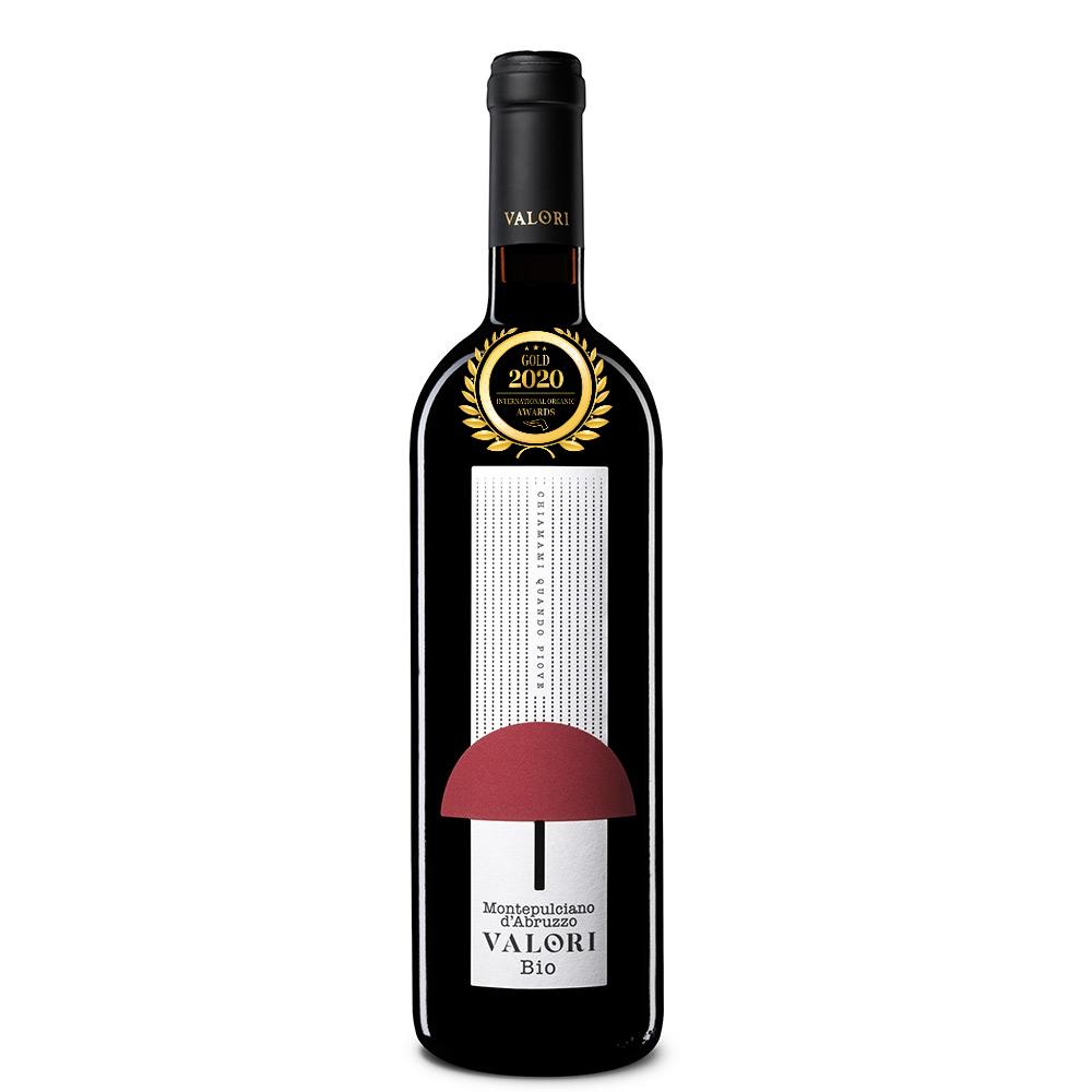 Montepulciano d'Abruzzo DOC 2016 BIO Chiamami Quando Piove - Valori has received a Gold Award in International Organic Awards 2020, awarded by Organic-Newspaper.com