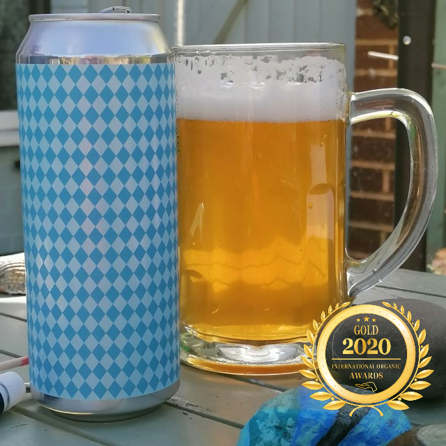 Pure Helles has received a Gold award in International Organic Awards 2020, awarded by Organic-Newspaper.com.