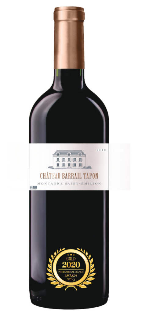 CHATEAU BARRAIL TAPON - MONTAGNE SAINT EMILION - 2019 - ROUGE has received a Gold Award in International Organic Awards 2020.