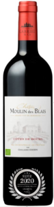 CHATEAU MOULIN DES BLAIS - COTES DE BOURG - 2019 - ROUGE has received a Silver Award in International Organic Awards 2020.