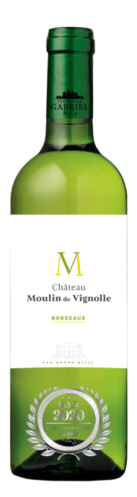 CHATEAU MOULIN DE VIGNOLLE - BORDEAUX - 2019 - BLANC has received a Silver Award in International Organic Awards 2020.