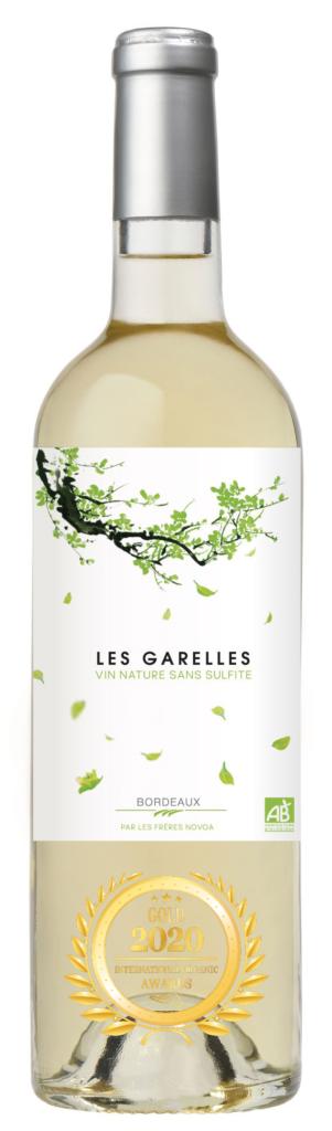 LES GARELLES - BORDEAUX - 2019 - BLANC has received a Gold award in International Organic Awards 2020.