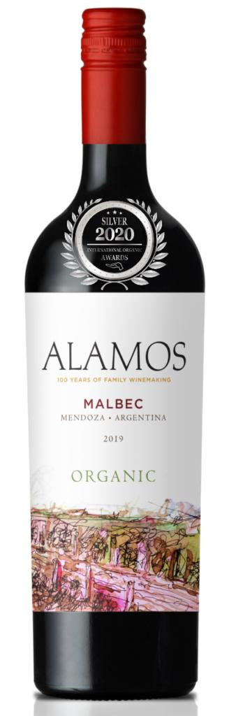 Alamos Malbec 2019 has received a Silver Award in International Organic Awards 2020, awarded by Organic Newspaper.