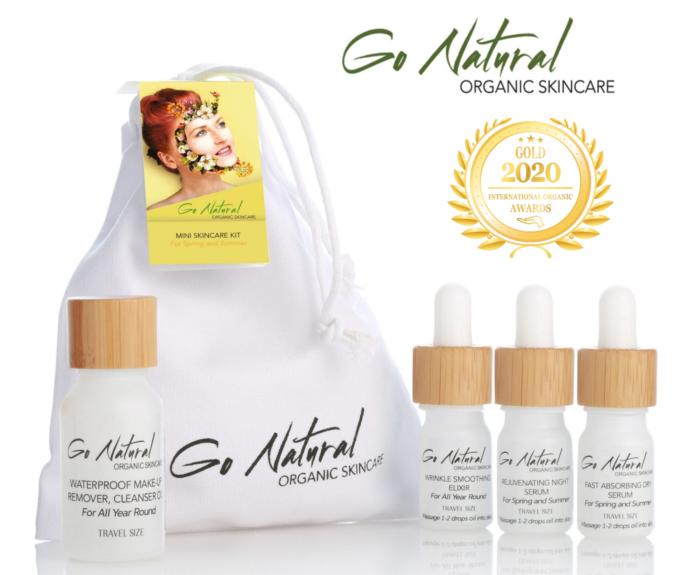 Go Natural Organic Skincare at Organic Newspaper