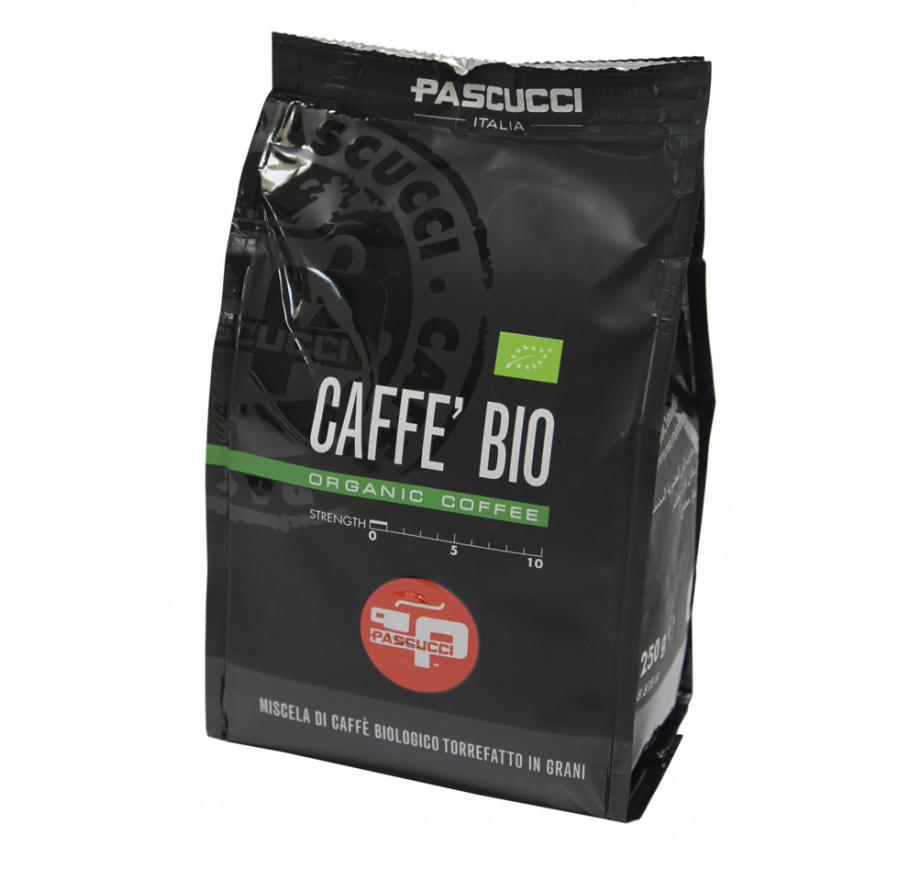 Caffe Pascucci's Organic Roasted Coffee Blend has received a Gold award in International Organic Awards 2020, awarded by Organic Newspaper.