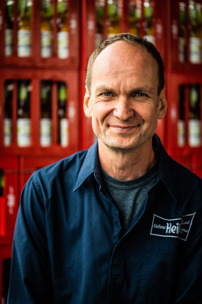 Martin Heil, CEO of Kelterei Heil at Organic Newspaper.