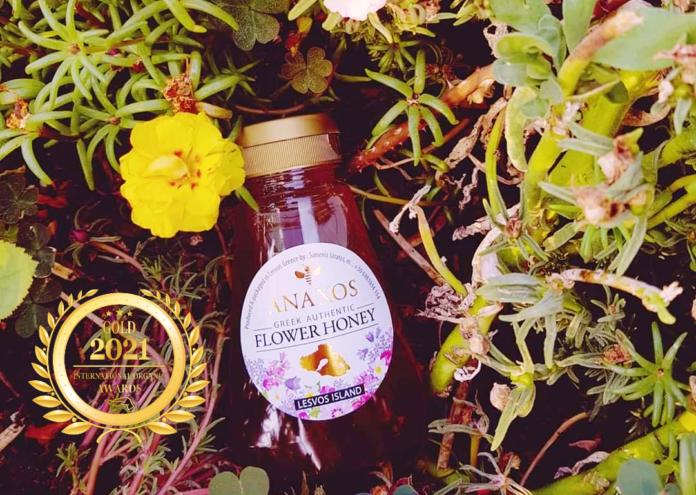 Honey-Anaxos Greek Authentic Flower at Organic Newspaper